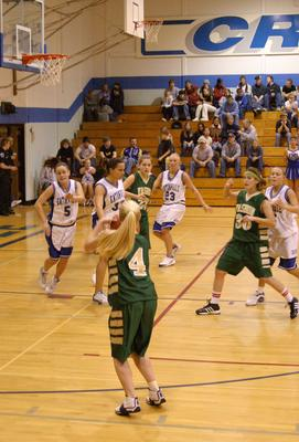 VHS girls basketball at Eatonville, 2004!